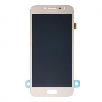 For Samsung Galaxy J2 Pro (2018) SM-J250 LCD Screen and Digitizer Assembly Replacement - Gold - Grade S+