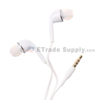 For Samsung Galaxy S4 Series Earpiece / Earphone - White - Grade S+
