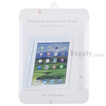 For Apple iPad 2/3/4 Tempered Glass Screen Protector ( With Package ) - Grade R