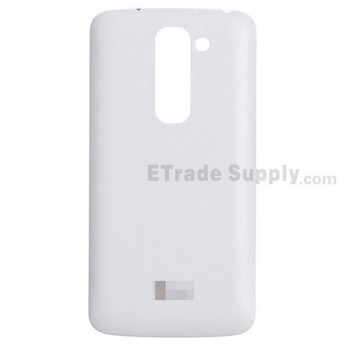 For LG G2 Mini D620 Battery Door Replacement - White - With Logo - Grade S+