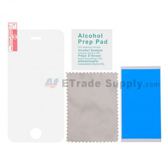 For Apple iPhone 4/4S Tempered Glass Screen Protector ( Without Package) - Thick: 0.30mm - Grade R