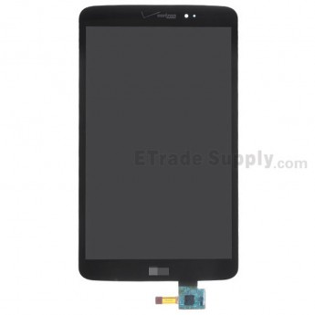 For LG G Pad 8.3 V500 LCD Screen and Digitizer Assembly Replacement - Black - Grade S+