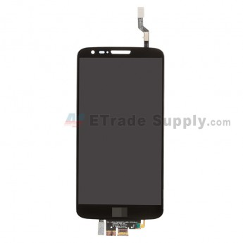 For LG G2 D802 LCD Screen and Digitizer Assembly Replacement - Black - With Logo - Grade A