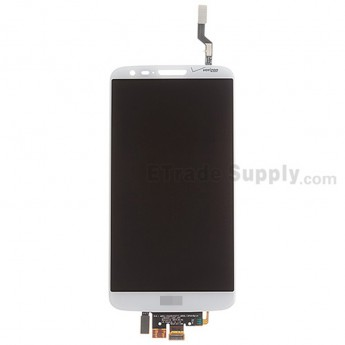 For LG G2 VS980 LCD Screen and Digitizer Assembly Replacement - White - With Logo - Grade A