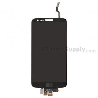 For LG G2 D800 LCD Screen and Digitizer Assembly Replacement - Black - With Logo - Grade A