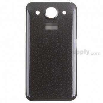 For LG Optimus G Pro E980 Battery Door Replacement - Black - With Logo - Grade S+