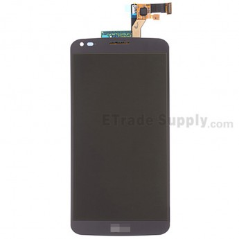For LG G Flex D950 LCD Screen and Digitizer Assembly Replacement - Black - With Logo - Grade S+