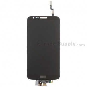 For LG G2 D802 LCD Screen and Digitizer Assembly Replacement - Black - With Logo - Grade S+