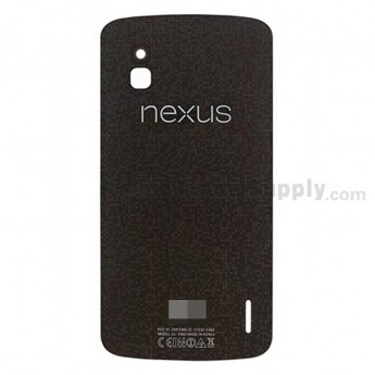 For LG Nexus 4 E960 Back Glass Replacement - Grade S+