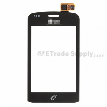 For LG Optimus Q LGL55C Digitizer Touch Screen Replacement - Black - Grade S+