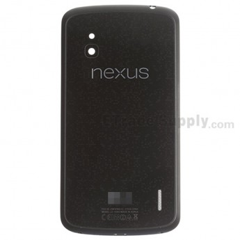 For LG Nexus 4 E960 Battery Door With NFC Replacement - Grade S+