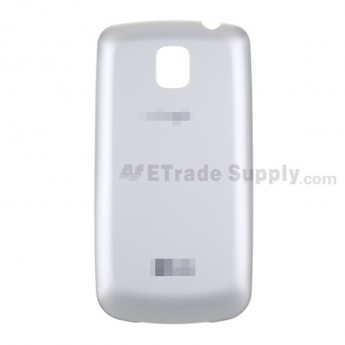 For LG Optimus One with Google P503 Battery Door  Replacement ,Silver, With Logo - Grade S+
