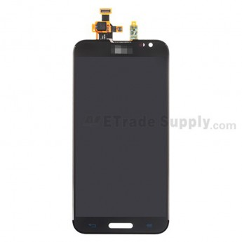 For LG Optimus G Pro E980 LCD Screen and Digitizer Assembly Replacement - Black - With Logo - Grade S+