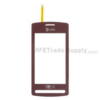 For LG Vu CU920 Digitizer Touch Screen without Adhesive Replacement - Red - Grade R