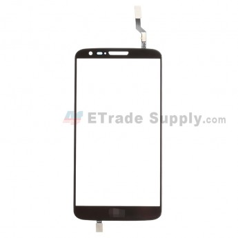 For LG G2 D800 Digitizer Touch Screen Replacement - Black - With Logo - Grade S+