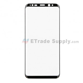 For Samsung Galaxy S8 Plus Series 3D Full Coverage Tempered Glass Screen Protector - Black - Grade R