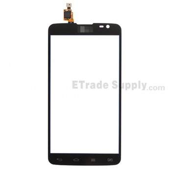 For LG G Pro Lite Dual D686, D685 Digitizer Touch Screen Replacement - Black - With Logo - Grade S+