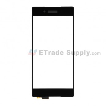 For Sony Xperia Z3+ Digitizer Touch Screen Replacement - Black - With Logo - Grade S+