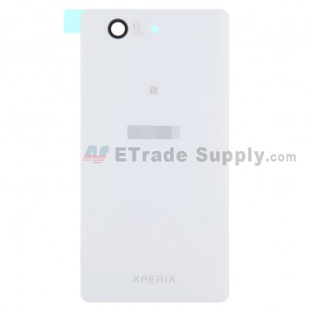 For Sony Xperia Z3 Compact Battery Door Replacement - White - Grade S+