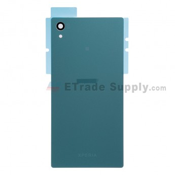 For Sony Xperia Z5 Battery Door  Replacement - Green - With Logo - Grade S+