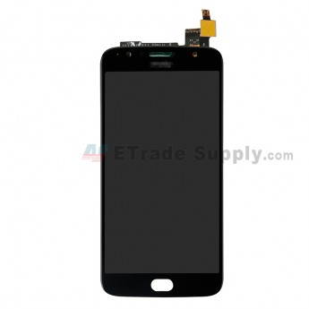 For Motorola Moto G5s Plus XT1802 LCD Screen and Digitizer Assembly Replacement - Black - Grade S+