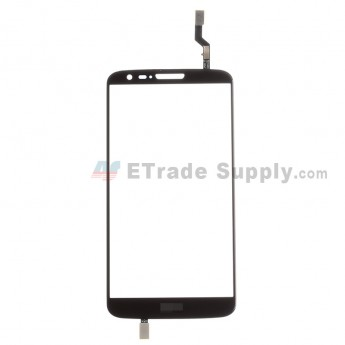 For LG G2 D802 Digitizer Touch Screen Replacement - Black - With Logo - Grade R