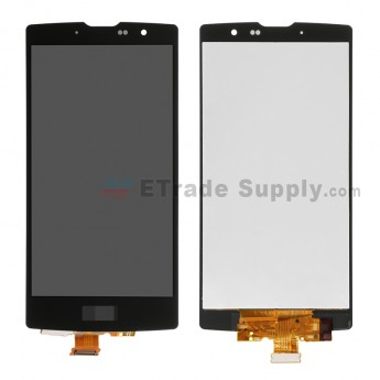 For LG G4c H525N LCD Screen and Digitizer Assembly  Replacement - Black - With Logo - Grade S+