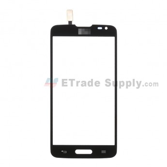 For LG L90 D405 Digitizer Touch Screen  Replacement - Black - with Logo - Grade R