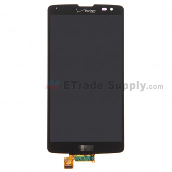 For LG G Vista VS880 LCD Screen and Digitizer Assembly Replacement - Black - With LG and Verizon Logo - Grade S+