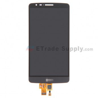 For LG G3 Stylus D690 LCD Screen and Digitizer Assembly  Replacement - Black - with Logo - Grade S+