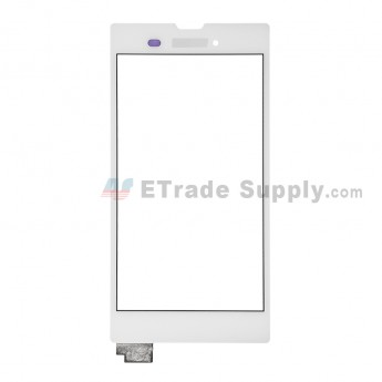 For Sony Xperia T3 Digitizer Touch Screen Replacement - White - With Logo - Grade S+