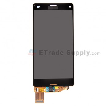 For Sony Xperia Z3 Compact LCD Screen and Digitizer Assembly Replacement - Black - With Logo - Grade A