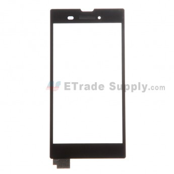 For Sony Xperia T3 Digitizer Touch Screen Replacement - Black - With Logo - Grade S+
