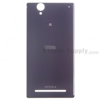 For Sony Xperia T2 Ultra Battery Door Replacement - Purple - Grade S+