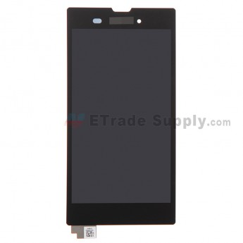 For Sony Xperia T3 LCD Screen and Digitizer Assembly Replacement - Black - With Logo - Grade S+