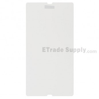 For Sony Xperia Z L36h Explosion-proof Screen Protector Film Replacement - With Logo - Grade S+