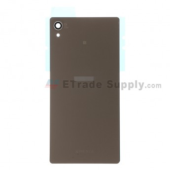 For Sony Xperia Z3+ Battery Door Replacement - Copper - With Logo - Grade S+