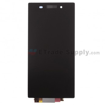 For Sony Xperia Z1 L39h LCD Screen and Digitizer Assembly Replacement - Black - With Logo - Grade A