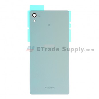 For Sony Xperia Z3+ Battery Door Replacement - Green - With Logo - Grade S+
