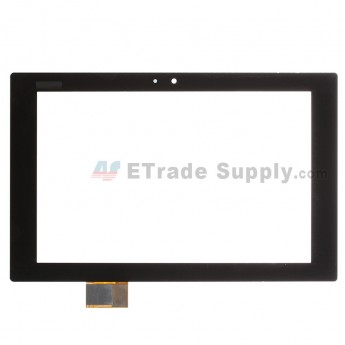 For Sony Xperia Tablet Z Digitizer Touch Screen Replacement - Black - With Logo - Grade S+