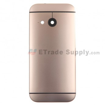 For HTC One Mini 2 Rear Housing Replacement (Gold) - With Logo - Without Words - Grade S+