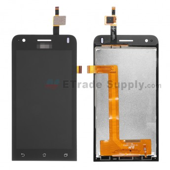 For Asus Zenfone C ZC451CG LCD Screen and Digitizer Assembly Replacement - Black -With Logo - Grade S+