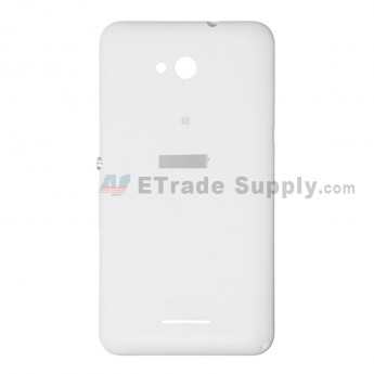 For Sony Xperia E4g Battery Door Replacement - White - Grade S+