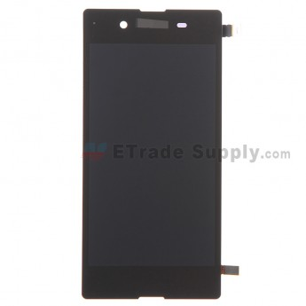 For Sony Xperia E3 LCD Screen and Digitizer Assembly Replacement - Black - With Logo - Grade S+