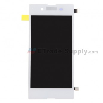 For Sony Xperia E3 LCD Screen and Digitizer Assembly Replacement - White - With Logo - Grade S+