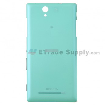 For Sony Xperia C3 Battery Door Replacement - Mint - With Logo - Grade S+