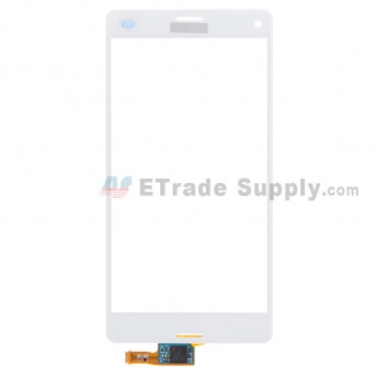 For Sony Xperia Z3 Compact Digitizer Touch Screen Replacement - White - With Logo - Grade S+
