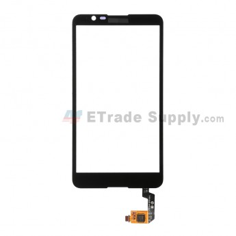 For Sony Xperia E4 Digitizer Touch Screen Replacement - Black - With Logo - Grade S+