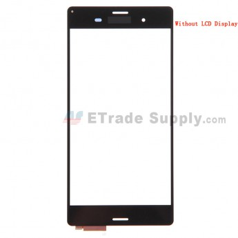 For Sony Xperia Z3 Digitizer Touch Screen Replacement - Black - With Logo - Grade S+