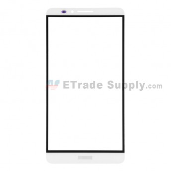 For Huawei Ascend Mate7 Glass Lens Replacement - White - Grade R